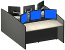 Advanced Workstations - Command Centers & Cabinets