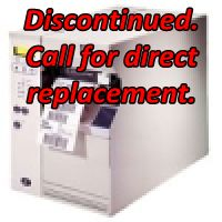 Zebra 105SL Discontinued. Call for Direct Replacement.