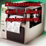 Zebra R170Xi Discontinued. Call for a Direct Replacement.