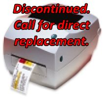 Zebra TLP 3844-Z Discontinued. Call for a Direct Replacement.