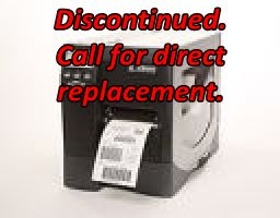 Zebra ZM400 Discontinued. Call for Direct Replacement.
