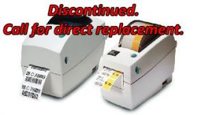Zebra LP2824 Plus Discontinued. Call for a Direct Replacement.