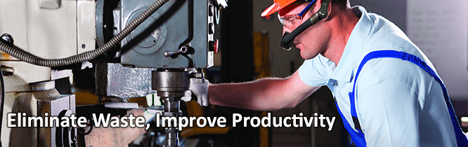TPI solutions improve productivity in manufacturing.