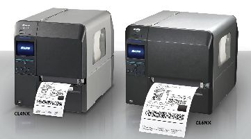 Sato CL6NX and CL4NX Series Industrial Barcode Printers