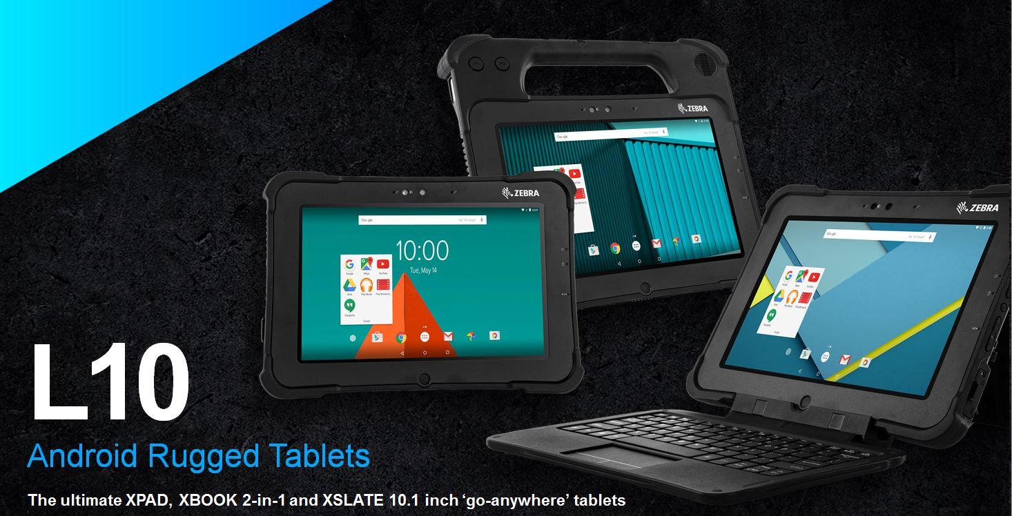 Zebra L10 Rugged Tablets