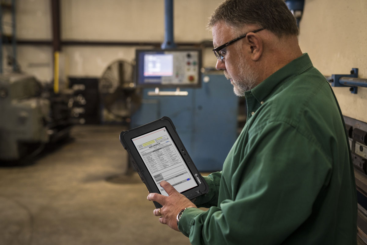 Zebra Rugged Tablets Simplified Paperwork