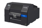Epson ColorWorks CW-C6500P Color Inkjet Printer with Peel and Present